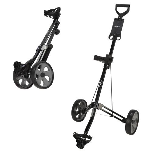 Caddymatic Golf Lite Trac 2 Wheel Folding Golf Cart Black,Caddymatic Golf Lite Trac 2 Wheel Folding Golf Cart Black,,,,