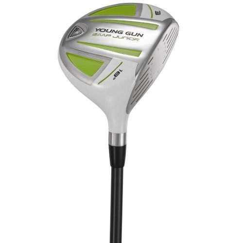 Young Gun ZAAP Junior Kids Right Hand Golf Club #3 Fairway Wood Age: 12-14 Green