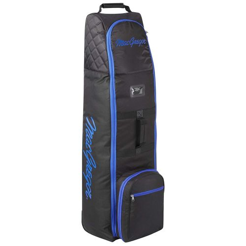 MacGregor Golf VIP Deluxe Wheeled Golf Travel Cover / Flight Bag Black/Blue