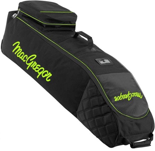 MacGregor Golf VIP Deluxe Wheeled Golf Travel Cover / Flight Bag Black/Green