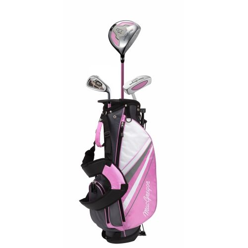 MacGregor Golf DCT Junior Girl Golf Clubs Set with Bag, Right Hand Ages 3-5