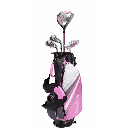 MacGregor Golf DCT Junior Girl Golf Clubs Set with Bag, Left Hand Ages 6-8