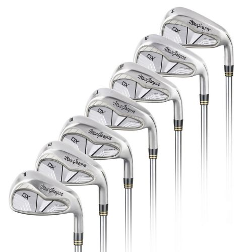MacGregor Golf DX Carbon Steel Iron Set, Mens Right Hand, 4-PW