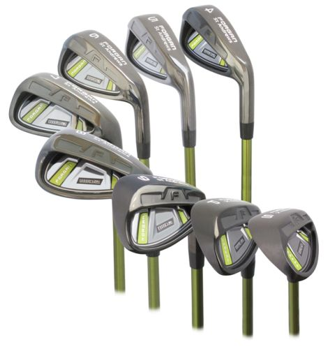 FORGAN IWD2 GOLF IRONS 4-SW CLUB HEAD ONLY FOR CLUB MAKER LEFTY 1 - UP LIE