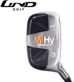 Lind Golf MiHY2 Square #3 Hybrid Rescue Wood Left Hand