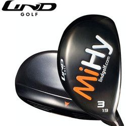 Lind Golf MiHY #4 Hybrid Rescue Wood Left Hand