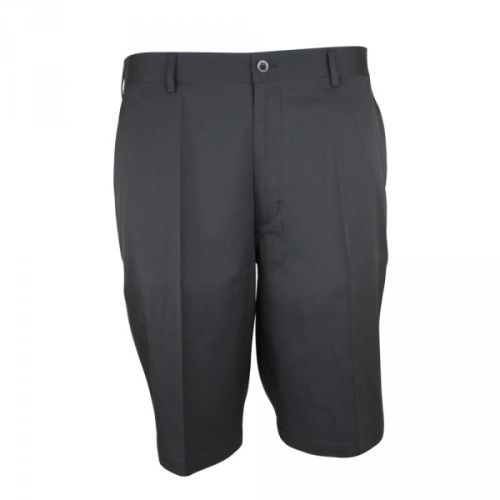 Palm Springs DryFit Flat Front Golf Shorts Black-34