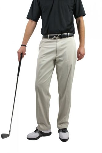 Palm Springs DryFit Flat Front Golf Pants Cream-36-33