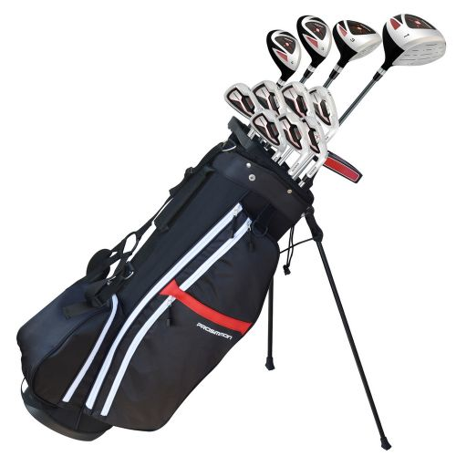 Prosimmon Golf X9 V2 Mens Graphite/Steel Club Set & Bag
