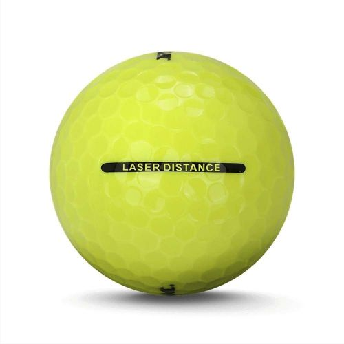 36 Ram Golf Laser Distance Golf Balls - Yellow,