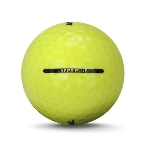 72 Ram Laser Plus Golf Balls - Yellow,