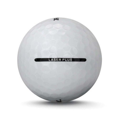 72 Ram Laser Plus Golf Balls - White,