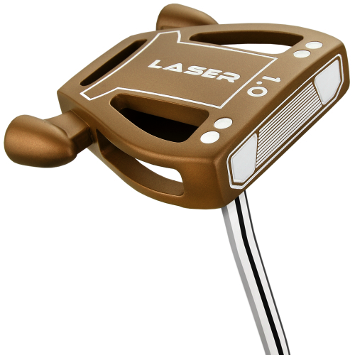 Ram Golf Laser Model 1 Putter with Advanced Perimeter Weighting - Copper,,,