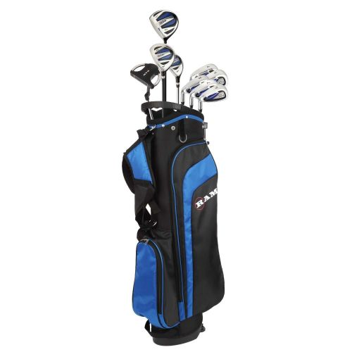 Ram Golf EZ3 Mens Golf Clubs Set with Stand Bag - Graphite/Steel Shafts - Lefty,,,,,,,,,,