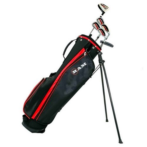 Ram Golf SGS Mens Golf Clubs Starter Set with Stand Bag - Steel Shafts,,,,,,,