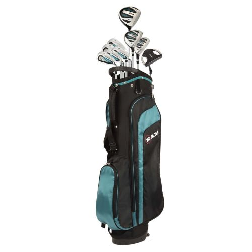 Ram Golf EZ3 Ladies Golf Clubs Set with Stand Bag - All Graphite Shafts ,,,,,,,,,,