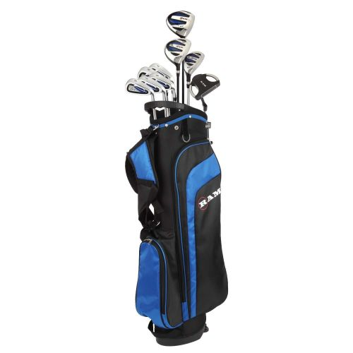 Ram Golf EZ3 Mens Golf Clubs Set with Stand Bag - Graphite/Steel Shafts,,,,,,,,,,