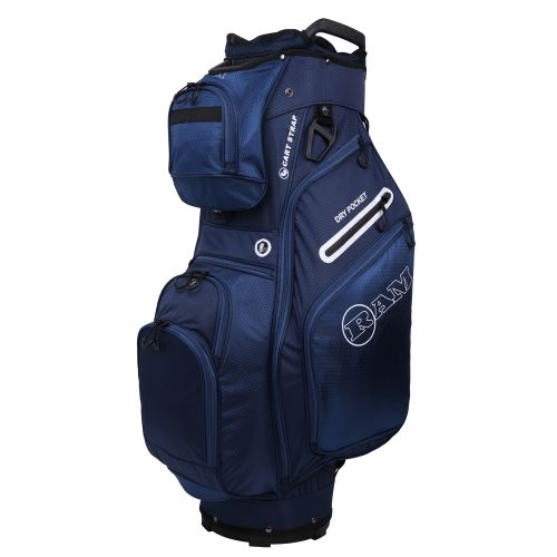 Ram Golf FX Deluxe Golf Cart Bag with 14 Way Dividers Navy