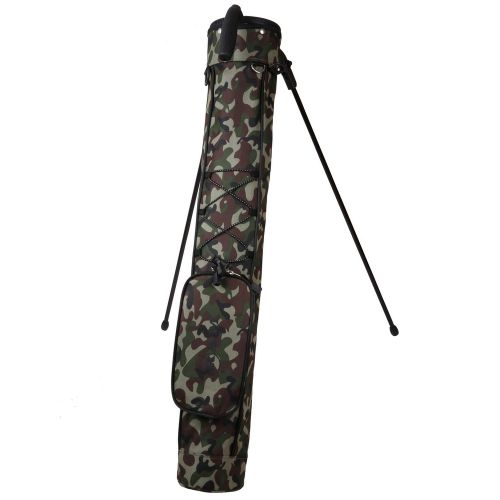 Ram Golf Pitch and Putt Lightweight Golf Carry Bag with Stand Camo