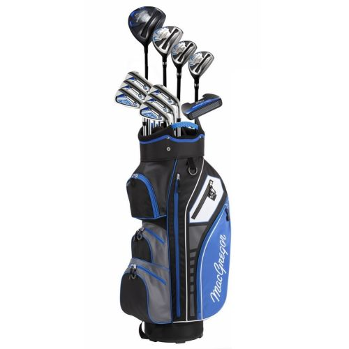 MacGregor Golf DCT3000 Premium Mens Golf Clubs Set, Left Hand, Cart Bag